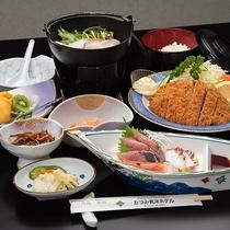 *【ビジネス夕食/全8品】肉料理が付いたビジネスに最適なリーズナブルなメニュー。