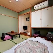 *【部屋/和室8畳】2名様までご利用いただける和室のお部屋です。