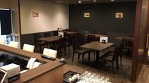 *【レストラン】寛ぎの空間でごゆっくりとお食事をお楽しみください。