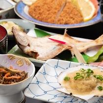 *【ビジネス夕食/グレードUP】+1,100円で魚料理2品追加できます(事前申出必要)