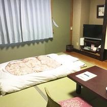 *【部屋/和室6畳】2名様までご利用いただける和室のお部屋です。