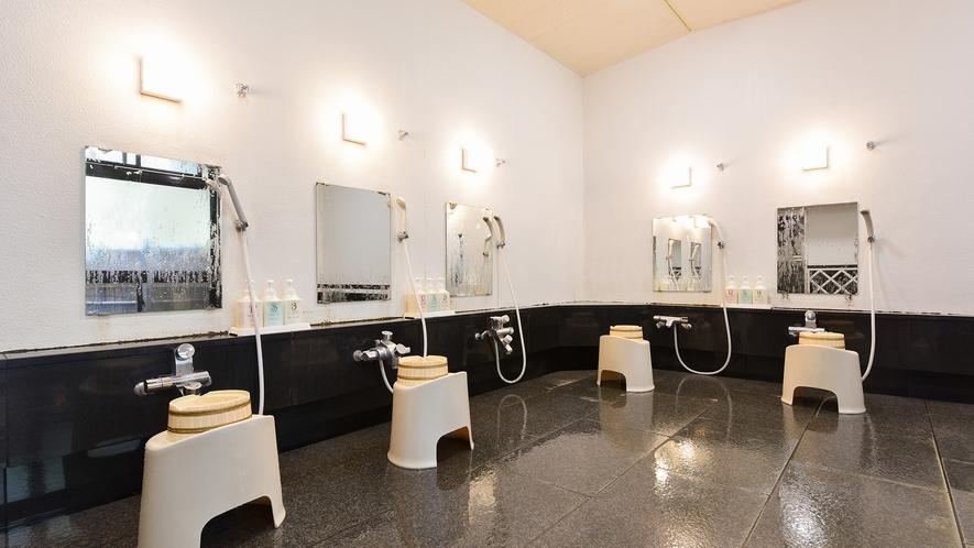 *大浴場 -洗い場