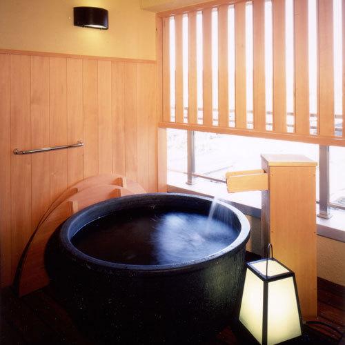 風美亭の露天風呂