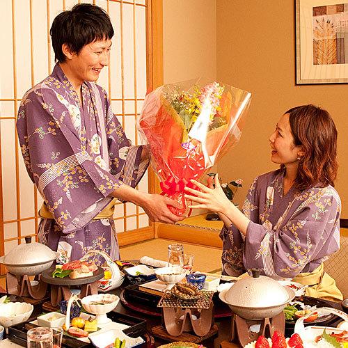 【オプション】記念日をお祝いするお花の手配を承ります※要事前予約