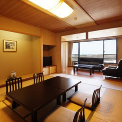 寛ぎの和室【東新館】2005年4月リニューアルOPENした広々とした12畳の和室