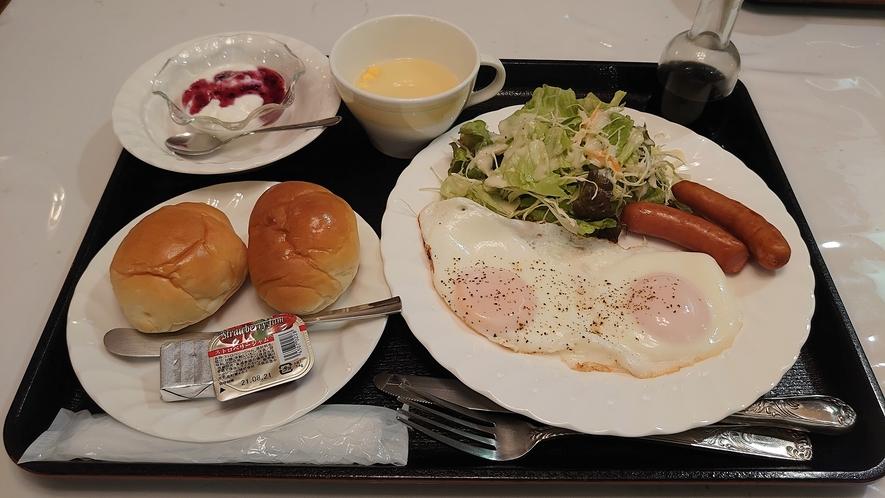 朝食 【洋食】