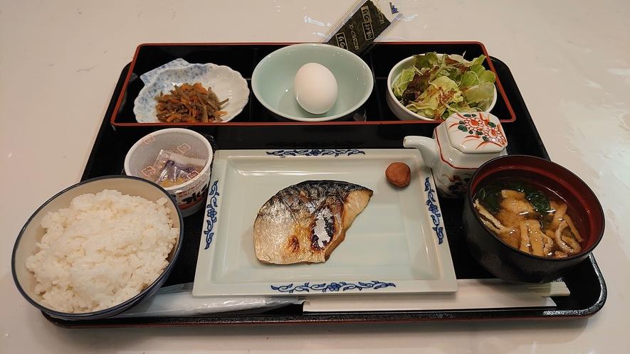 朝食 【和食】