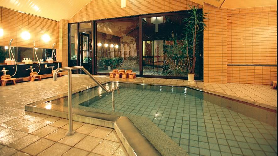 ■温泉「美女つくりの湯」大浴場 山奥の秘境の湯を存分にご満喫!