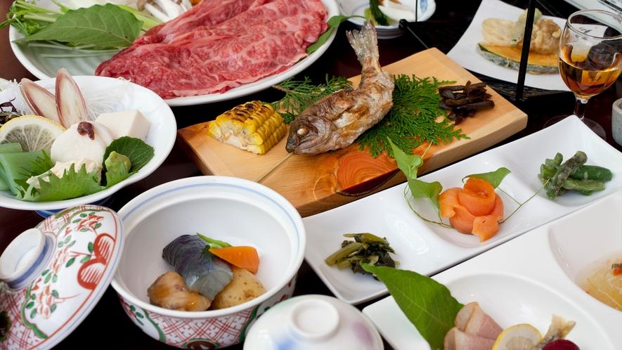 【九曜紋コース】量よりも質を重視したアップグレード料理C