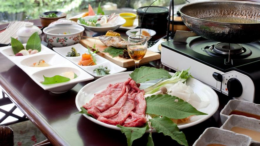 【九曜紋コース】量よりも質を重視したアップグレード料理L