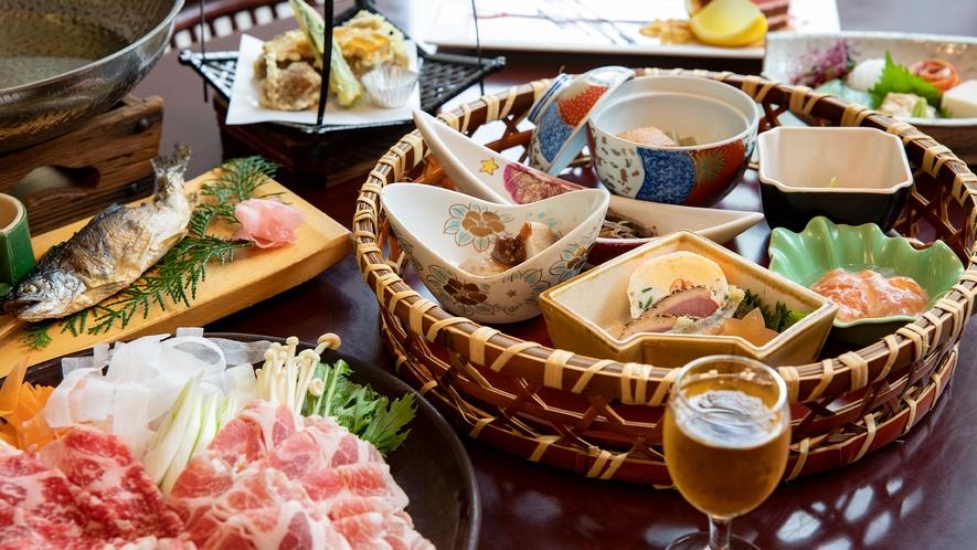 【九曜紋コース】量よりも質を重視したアップグレード料理