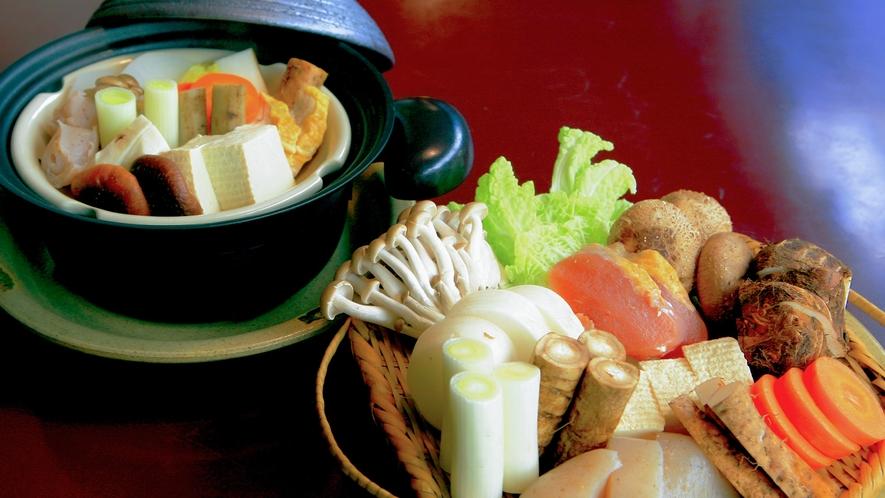 【野菜蒸し鍋】