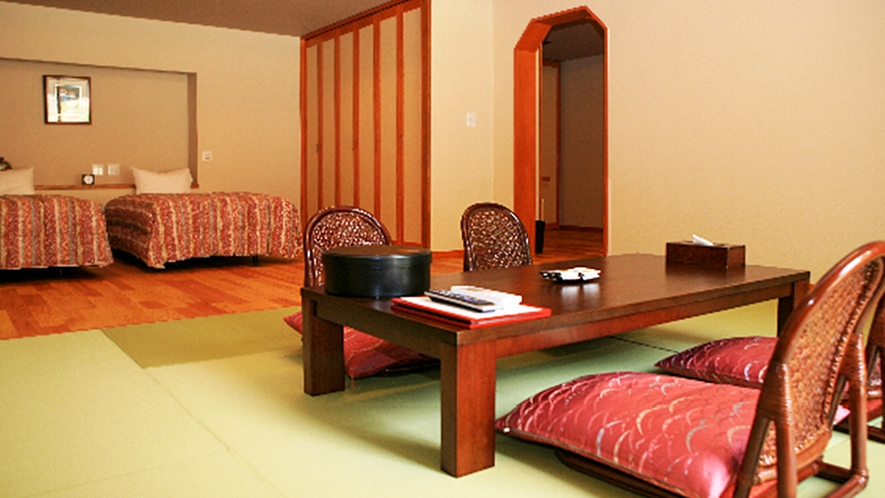 【特別室】ほっと休まる落ち着きの空間で日本の風情を感じながら寛ぐ