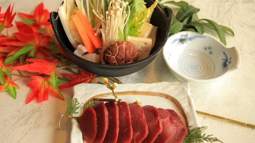 【鹿鍋】昼食メニュー