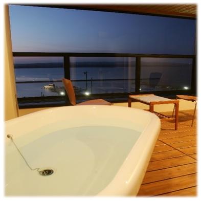 アジアンモダン♪猫足バスタブから海を眺めて…海側和洋室プラン