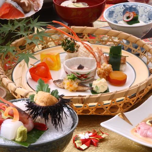 能登会席料理の一例