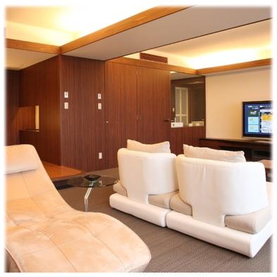 【1室限定】七尾湾をワイドに一望する!!キング&クイーンルームプラン