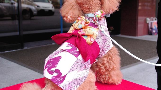 【楽天トラベルセール】愛犬同室OK★愛犬と一緒に温泉旅行&調理長自慢のお料理ぽっかぽかプラン