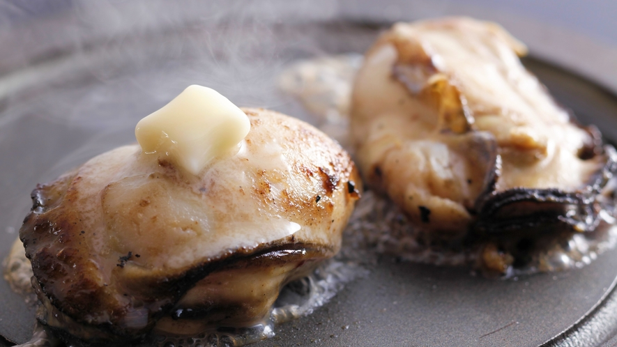 岩牡蠣‐陶板焼き‐