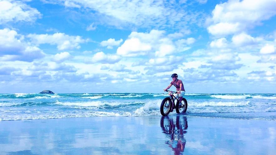 【鳥取砂丘】マウンテンバイク