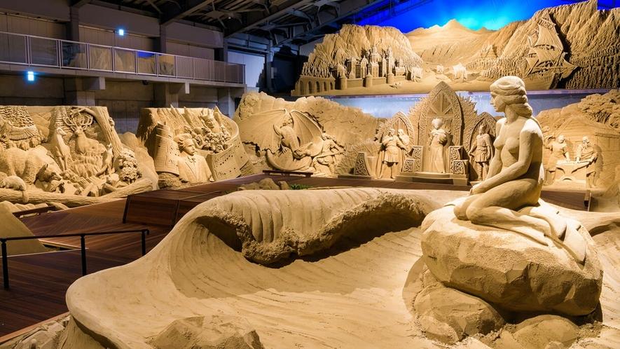 【鳥取砂丘】砂の美術館