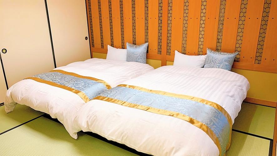 特別室 和室12畳+洋室‐ベッド【バス・ウォシュレットトイレ付】