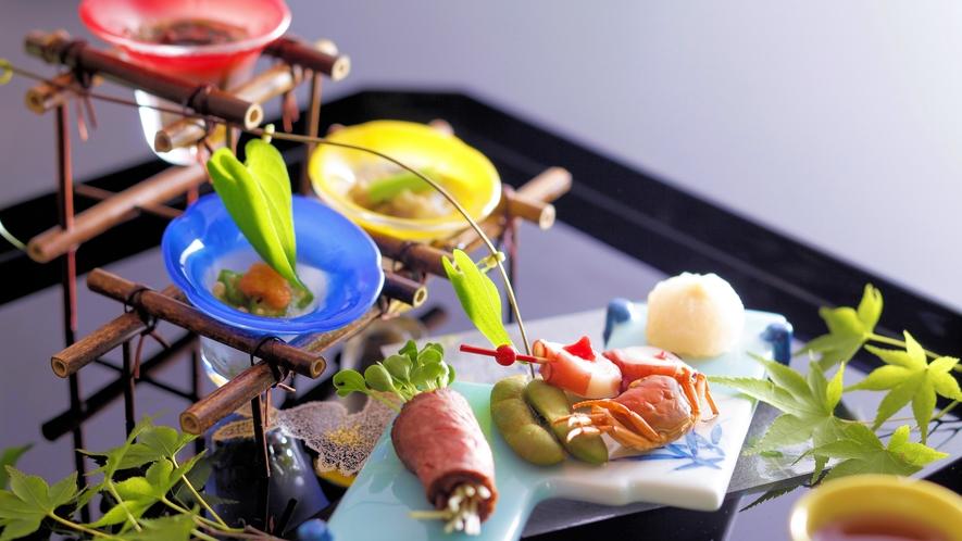 【夏の会席料理】前菜(例
