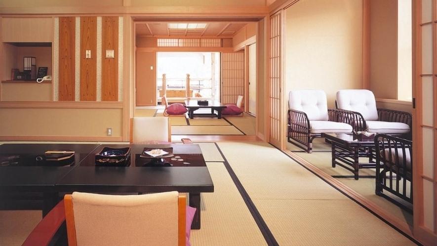 迎賓室 温泉露天風呂付和室【紺瑠璃(こんるり)606】