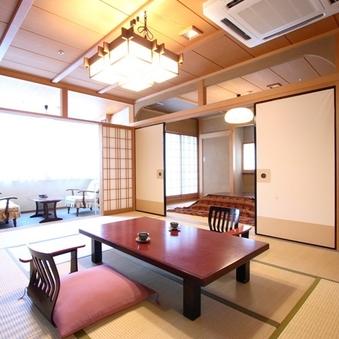 登竜館 和室 特別室 10畳+6畳(禁煙室)