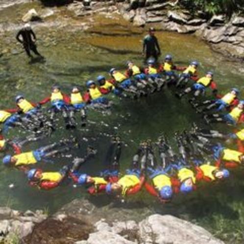 【キャニオニング(CANYONS)】夏〜秋/体をつかって川すべり!大自然を体感するならキャニオニング