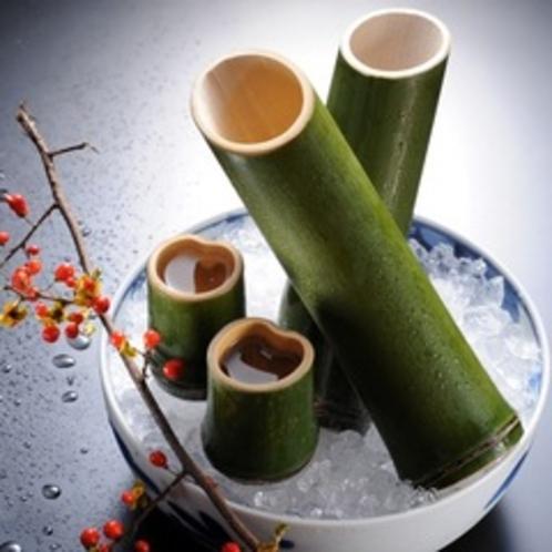 【竹冷酒】竹の器で飲むからより一層美味しい冷酒♪