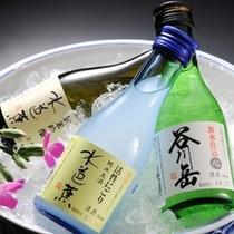 【地酒3種】谷川岳、水芭蕉