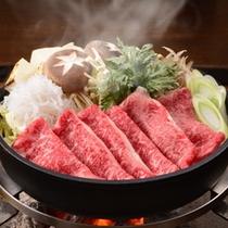 【赤城牛すき焼き】群馬産のおいしいお肉を堪能♪赤城牛をすき焼きで。
