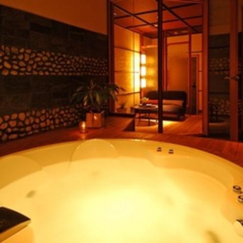 【源泉ジャグジー貸切風呂「風月の湯」】10:00〜22:00/1時間3,000円