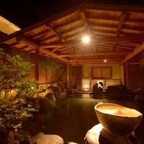 利根川のせせらぎを聴きながら…庭園露天風呂「たまゆらの湯」