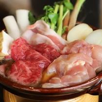 地元の旬食材たっぷり♪「お宝すき焼き 2019年春ver」