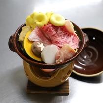 地元の旬食材たっぷり♪「お宝すき焼き 2019年秋ver」