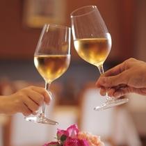 ≪レストランイメージ≫大切な方の記念日に山梨産ワインで乾杯♪