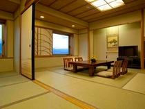 ≪和室イメージ≫本間10畳の広々空間でのんびり旅行気分を満喫