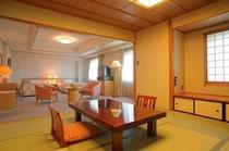 【特別室_和洋室タイプ】限定2室の和洋室。贅沢な大人のプレミアムステイ。