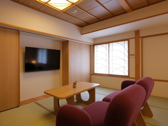 TATAMIツイン(51㎡) 2019年リニューアル ソファや家具は人気の天童木工製
