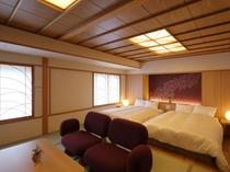 ≪9階ジャパニーズウッドモダンツイン51平米≫和の趣きを活かした寛ぎの空間