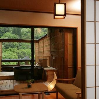 【露天風呂付き客室 陶】風情を愉しむ趣ある和室11畳