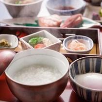 【宇奈月温泉玉子】温泉の朝食と言えば温泉卵。出汁の味わいと共にご賞味ください。