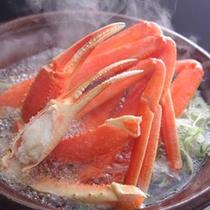 【旬味の一品】富山湾の紅津合蟹は立山連峰の良質な水とプランクトンの影響で、栄養価も高いと評判の一品。