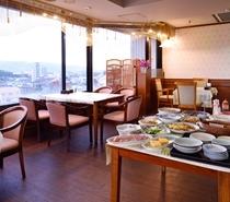7階朝食会場