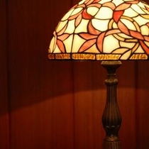 館内設置のランプ