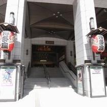 博多座入口