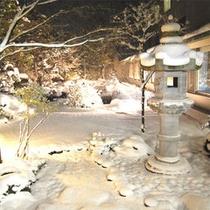 東北ならではの雪景色