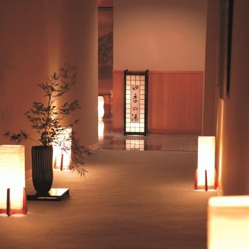 渡り廊下(大浴場)